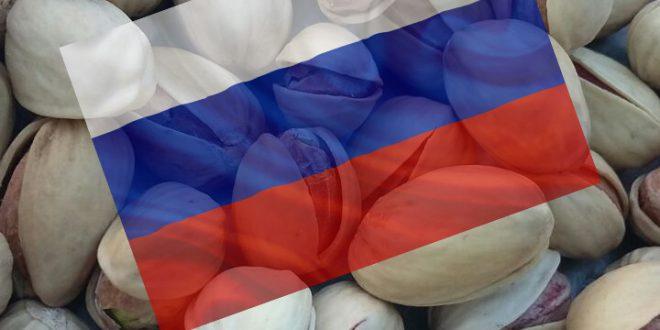 فروش پسته در روسیه